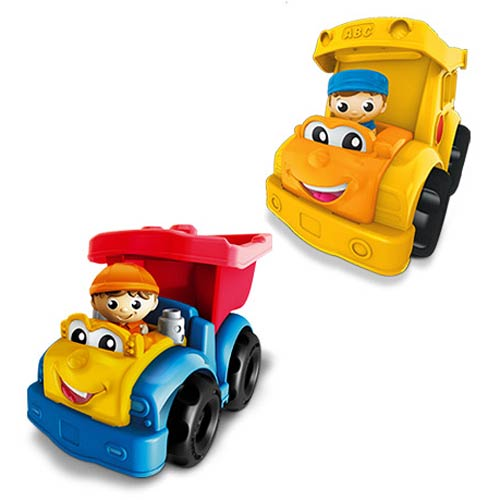 Mega Bloks Lil Vehicles First Builders Vehicle Wave 2 Set