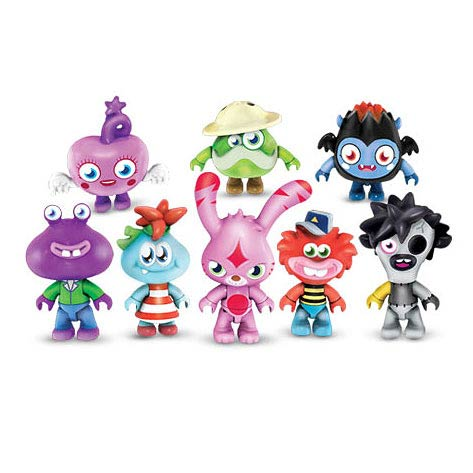 Mega Bloks Moshi Monsters Series 3 Mini-Figure 6-Pack