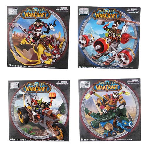 Mega Bloks World of Warcraft Mount Series 3 Case