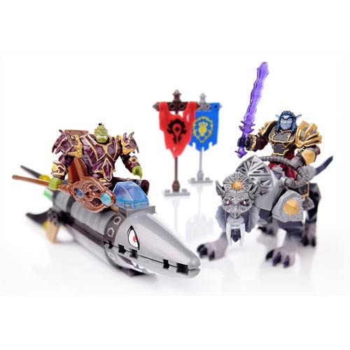 Mega Bloks World of Warcraft Barrens Chase Playset