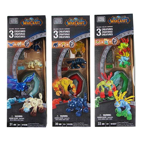 Mega Bloks World Warcraft Creature Collectibles Ser. 1 Case