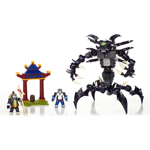 Mega Bloks World of Warcraft Sha of Anger Figure Set