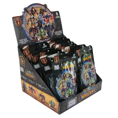 Mega Bloks World Warcraft Micro Figure Series 1 Case