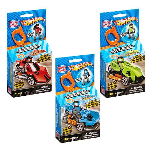 Mega Bloks Hot Wheels Build and Race Vehicles Set