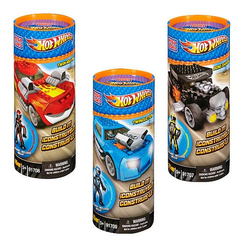 Mega Bloks Hot Wheels Build & Collect Vehicles Series 1 Set