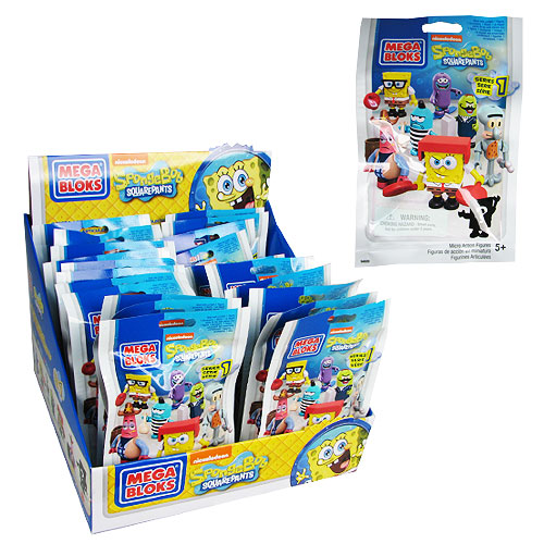Mega Bloks SpongeBob SquarePants Mini-Figures Series 1 Case