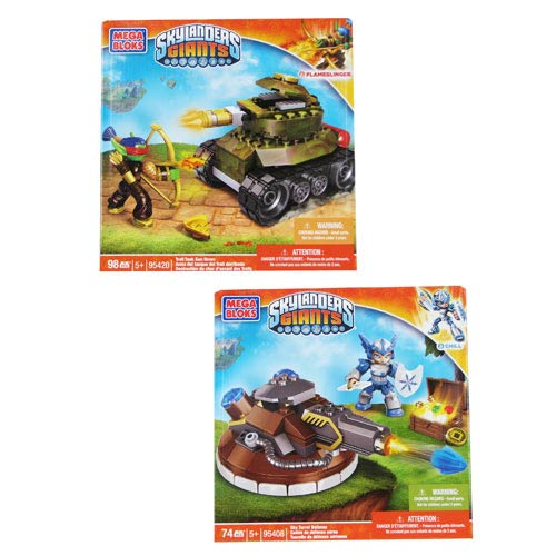 Mega Bloks Skylanders Giants Series 2 Vehicle Case