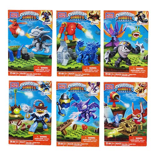 Mega Bloks Skylanders Hero Pack Series 1 Mini-Figures Case