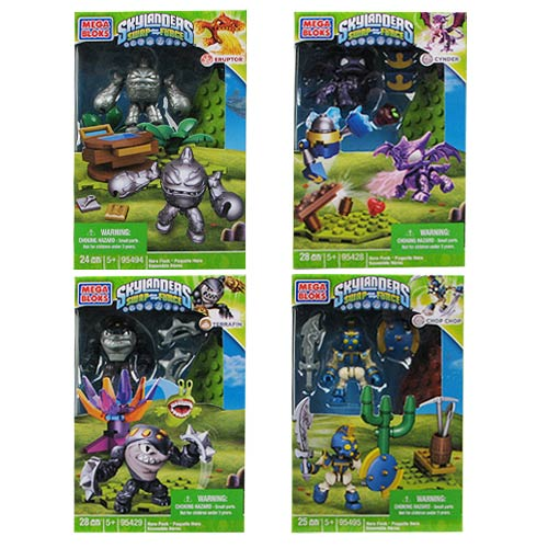 Mega Bloks Skylanders Hero Pack Series 3 Mini-Figures Case