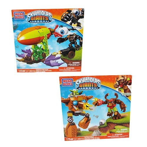 Mega Bloks Skylanders Giants Series 2 Case