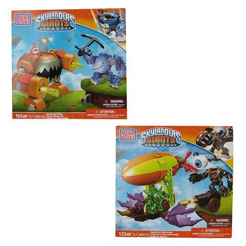 Mega Bloks Skylanders Giants Series 3 Case