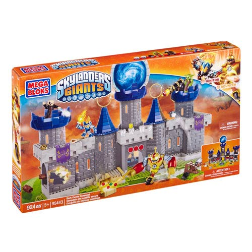 Mega Bloks Skylanders Dark Castle Conquest Construction Set