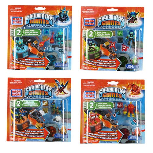 Mega Bloks Skylanders Battle Portals Series 2 Case