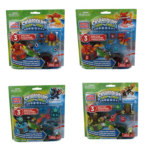 Mega Bloks Skylanders Battle Portals Series 3 Case
