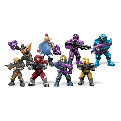 Mega Bloks Halo Micro Figures Series 7 Double Facing Box