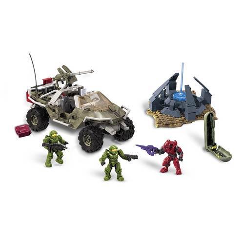 Mega Bloks Halo UNSC Marine Warthog Resistance Vehicle