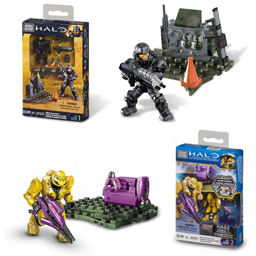 Mega Bloks Halo UNSC Armory Pack Series 3 Set