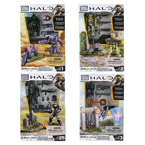 Mega Bloks Halo UNSC Armory Pack Series 4 Case