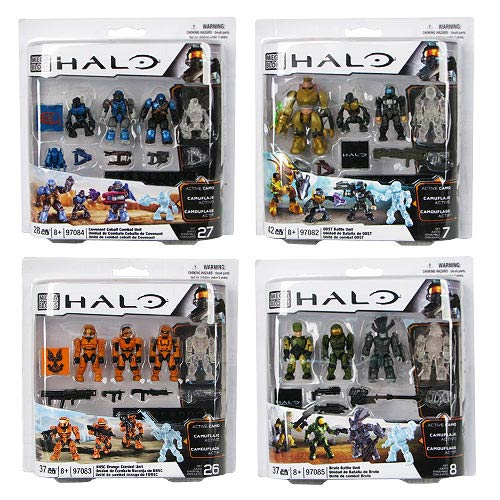Mega Bloks Halo Combat Unit Series 10 Case