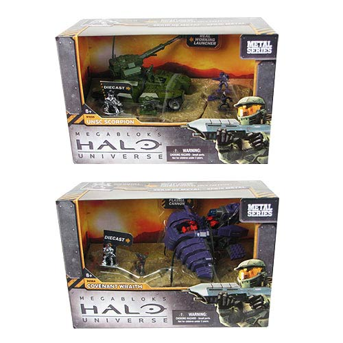 Mega Bloks Halo Heavy Armored Vehicles Series 2 Case