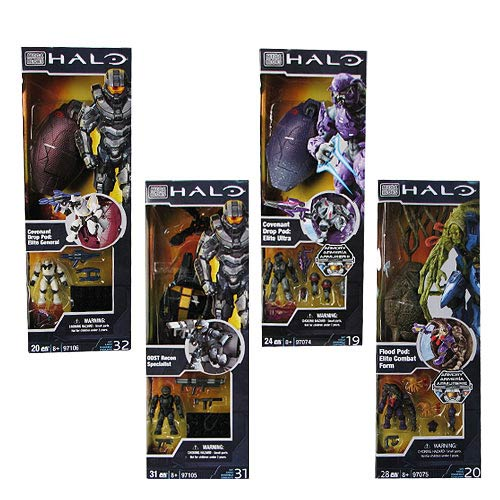 Mega Bloks Halo Drop Pod Series 3 Case