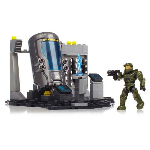 Mega Bloks Halo UNSC Marine Cryo Bay Construction Playset
