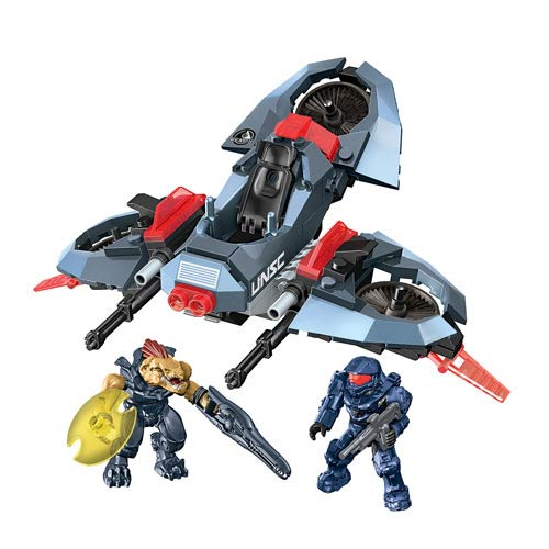 Mega Bloks Halo ONI Light Assault VTOL Construction Vehicle