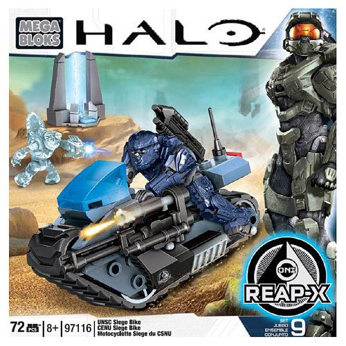 Mega Bloks Halo UNSC Marine Siege Bike Vehicle
