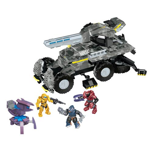 Mega Bloks Light-Up Talking UNSC Anti-Armor Cobra Vehicle