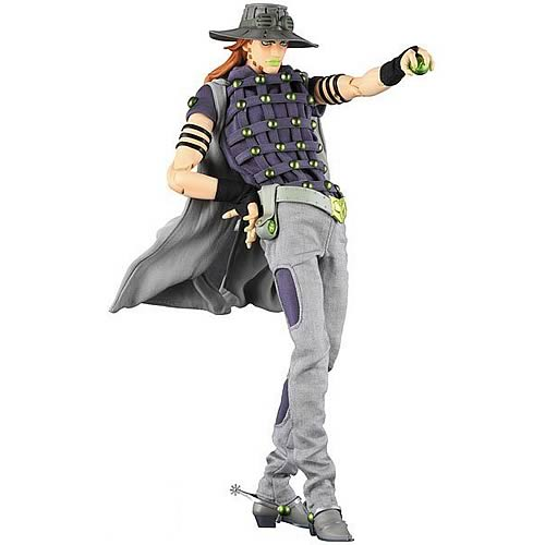 Steel Ball Run Gyro Zeppeli 12-Inch Action Figure
