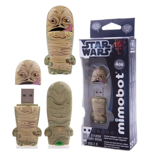 Star Wars Jabba The Hutt Mimobot USB Flash Drive