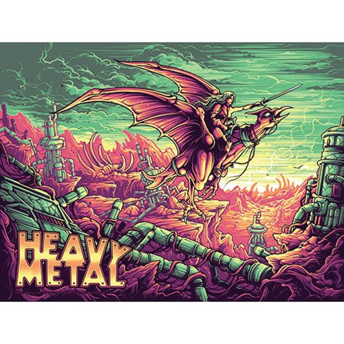 Heavy Metal Regular Edition by Dan Mumford Art Print