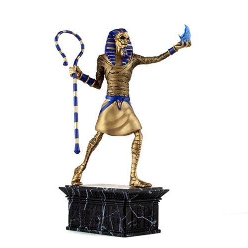 Iron Maiden Powerslave Eddie Gold Variant 1:10 Scale Statue