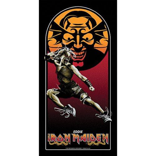 Iron Maiden Maiden Kombat by Mark Englert Art Print