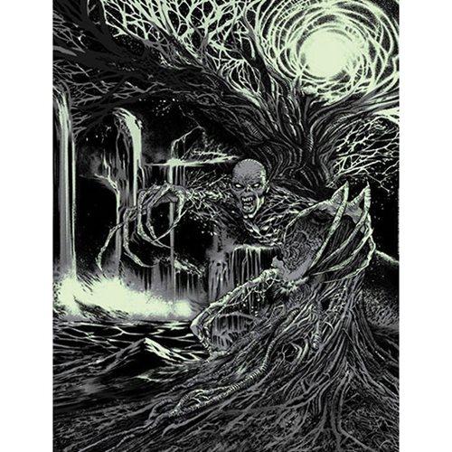 Iron Maiden Fear of the Dark by Richard Friend Glow-in-the-Dark Art Print