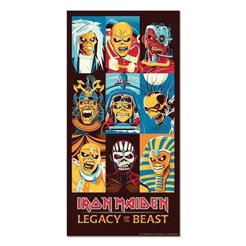 Iron Maiden Legacy of the Beast by Dave Perillo Art Print