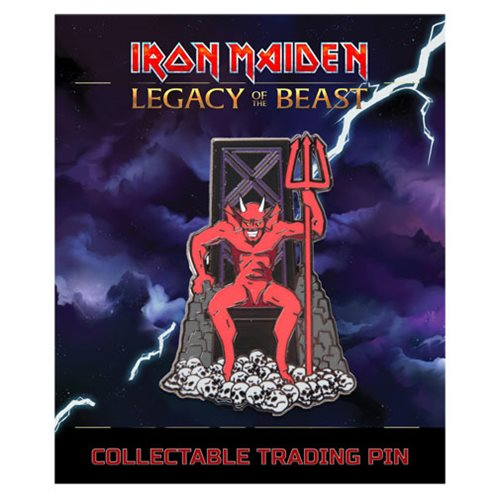 Iron Maiden Legacy of the Beast The Beast Lapel Pin