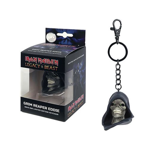 Iron Maiden Legacy of the Beast Reaper Head Key Chain