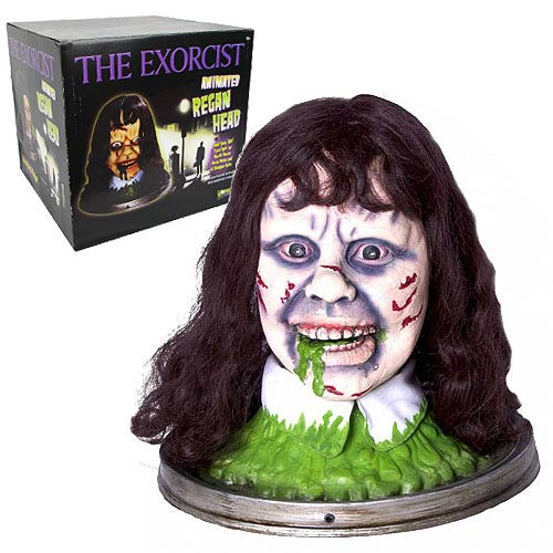 The Exorcist Head Platter Prop Replica