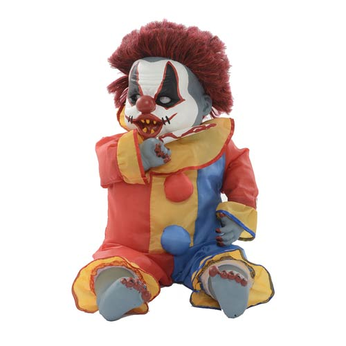 Animated Ouchy Clown Talking 25-Inch Halloween Decoration