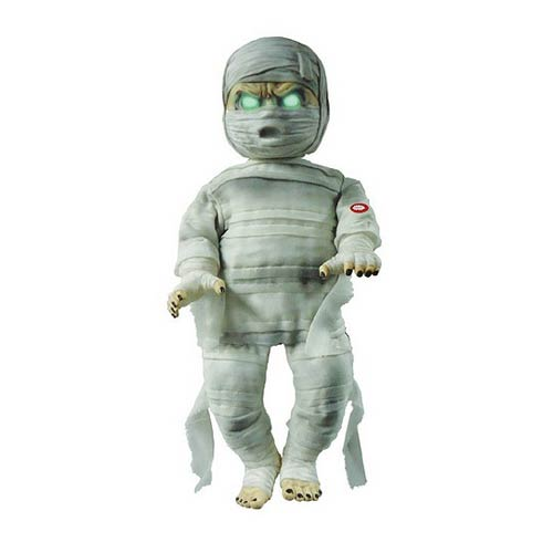 Animated Baby Mummy Talking 25-Inch Halloween Decoration