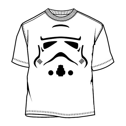 Star Wars Stormtrooper Face T-Shirt