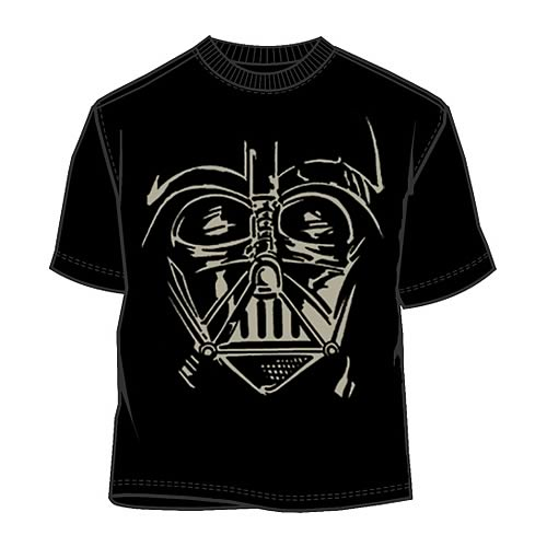 Star Wars Darth Vader Face T-Shirt