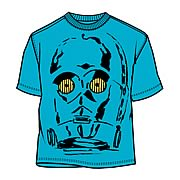 Star Wars C-3PO Face T-Shirt