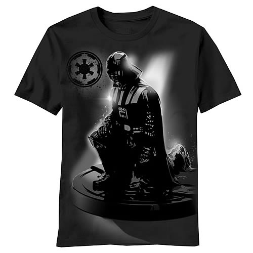 Star Wars Darth Vader Complete Submission Black T-Shirt