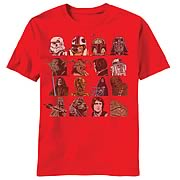Star Wars Head Count T-Shirt