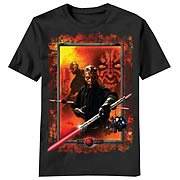 Star Wars Darth Maul Frame T-Shirt