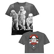 Star Wars Stormtroopers Open Doors Grey T-Shirt