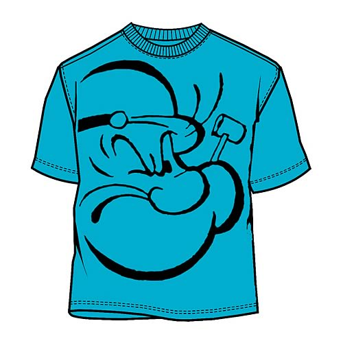 Popeye Face T-Shirt