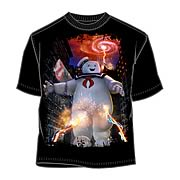Ghostbusters Marshmallow Man Attack T-Shirt